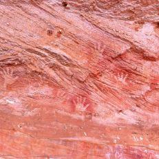 mutawintji heritage tours various hand stencils 3
