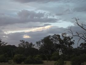 mutawintji heritage tours cloudy evening sky