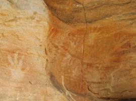 mutawintji heritage tours hand stencils and symbol