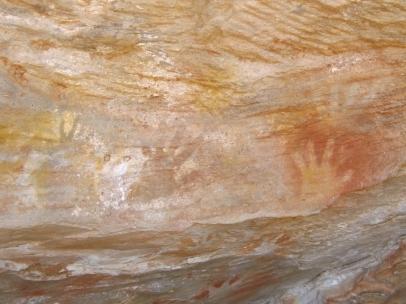 mutawintji heritage tours mutawintji hand stencils
